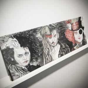 Johnny Depp -taulu roolihahmoista